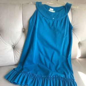Girls Dress- Pretty Blue, Brand New- Halter top